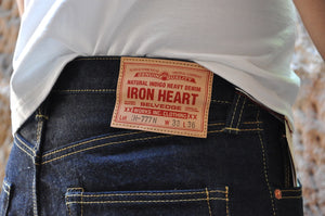 Iron Heart 777N Denims (Super Slim Tapered fit)