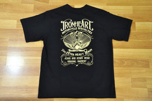 Iron Heart 7.5oz 'Motorcycle Specialist'  Loopwheel Tee
