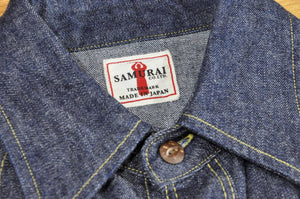 Samurai 10.5oz Western 'Blade-Star' Denim Shirt