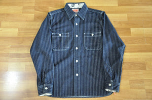 Samurai 10 Denim Wabash Work Shirt (Indigo)