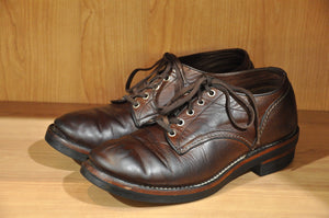 The Flat Head Horsehide Oxford Shoes 20 Months In Use