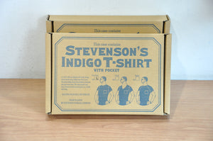 Stevenson Overall Super Slow Loopwheeled Pocket Tee (Indigo)