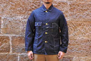 FULL COUNT 12OZ USN DENIM COVERALL (20AW VERSION)