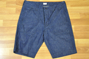 Japan Blue 11oz Military Denim 'Baker' Shorts