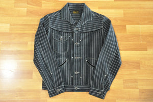 Stevenson Overall Co Deputy Jacket Ver 3.0 (Black Stripes)