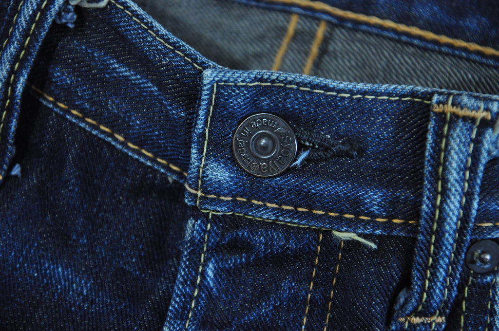 Pure Blue Japan 011 Denims 12 months In Use