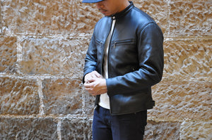 The Flat Head Deerskin Rider Jacket