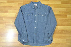 Samurai 10oz Indigo Dyed Check Shirt