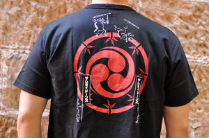 SAMURAI 6.7OZ 'SUPER-SAMURAI' LOOPWHEEL TEE (BLACK)