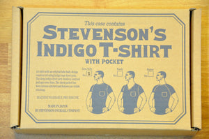 Stevenson Overall Super Slow Loopwheeled Pocket Tee (Grand Indigo)