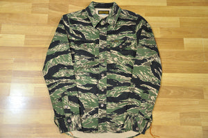 Iron Heart 11oz 'Tiger Camo' Jacketed Shirt
