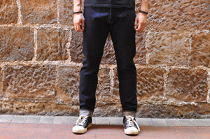 STUDIO D'ARTISAN D1815 14OZ DENIM (RELAXED TAPERED FIT)