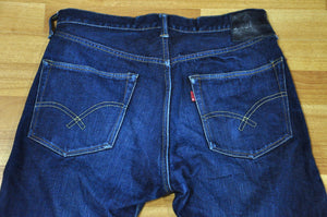 Full Count X Corlection 2110 'Blue Mountain' Limited Edition Denims 5 months in use