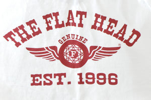 "The Flat Head 7oz ""Flying Wheel"" L/S Loopwheeled Tees"