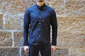 Full Count Black Medium Weight B.D Oxford Shirts (Special Edition)
