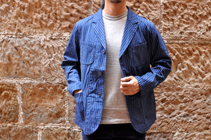 Momotaro 12oz Indigo Wabash Early Work Jacket
