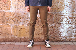 BLUE BLUE JAPAN 'EASY' STRETCH CHINO (SUPER SLIM FIT)