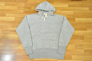 STUDIO D'ARTISAN 'STANDARD' 12OZ LOOPWHEEL PULLOVER (HEATHER GREY)