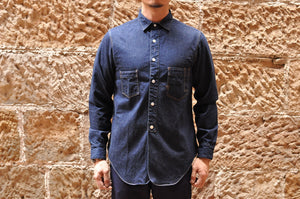 Freewheelers 'Locomotive' 8oz Selvage Denim Shirt