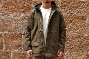 Orgueil Hooded Field Jacket (Olive)