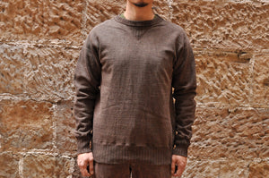 Studio D'Artisan 12oz Mud Dyed Loopwheel Sweatshirt