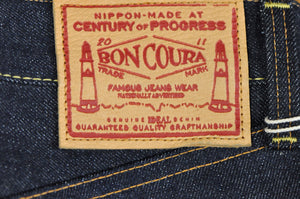 Boncoura 14.5oz 'Type Z' Denim (Relax Tapered Fit)