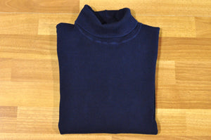 Blue Blue Japan Indigo Dyed Turtle Neck Sweatshirt