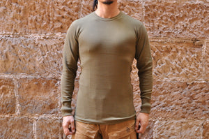Warehouse Medium Weight Thermal Shirts (Olive/Black/Burgundy/Navy)