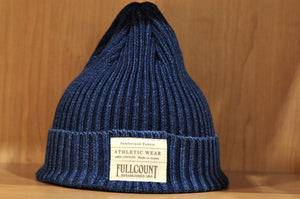 Full Count Indigo Dyed Cotton Beanie