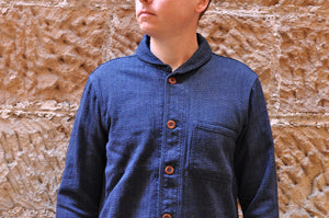 Momotaro 13oz Heather Indigo HBT Work Jacket