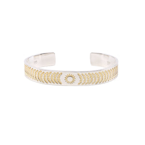 LEGEND 11MM 'RADIANCE' BANGLE WITH 24K GOLD