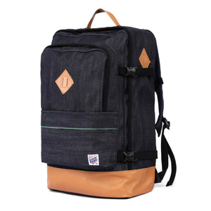 Samurai Denim 'Hiking' Backpack