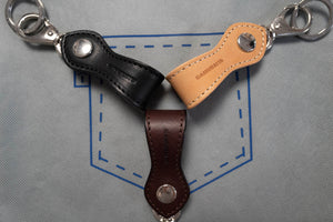 SAMURAI STEER HIDE KEY HOLDERS