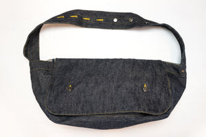 SAMURAI 17OZ DENIM MAIL SHOULDER BAG