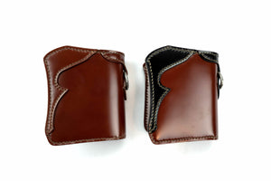 THE FLAT HEAD MINI CORDOVAN WALLET