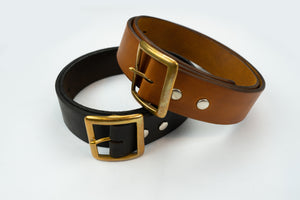 STEVENSON OVERALL CO. GALLISON COWHIDE BELT (SPECIAL EDITION)