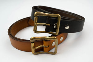 STEVENSON OVERALL CO. NARROW COWHIDE BELT (SPECIAL EDITION)