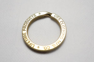 UES COPPER KEY RING