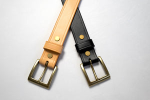 Orgueil 'Benz' Leather Belts
