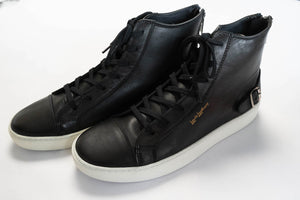 LEWIS LEATHERS FULL GRAIN 'SIDECAR' SNEAKERS
