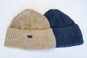 Samurai Cotton/Wool Knitted Beanie