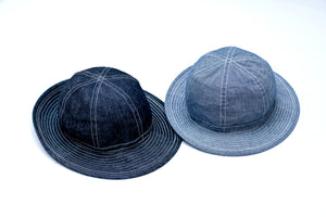 FULL COUNT 10OZ INDIGO DENIM ARMY HAT