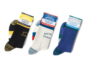 STEVENSON OVERALL LOGO ATHLETIC SOCKS