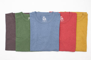 MOMOTARO 7.5OZ 'ACTIVE DYED' GTB TEES