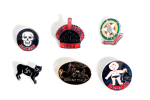 Lewis Leather Badges