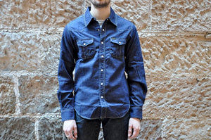 Studio D'Artisan 10oz Denim Western Shirt