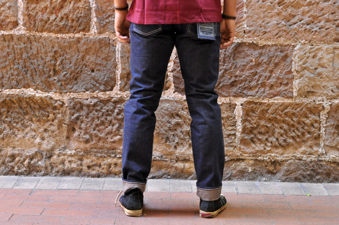 Studio D'Artisan 40th Anniversary 'Earth' 15oz Denim (Relax Tapered fit)