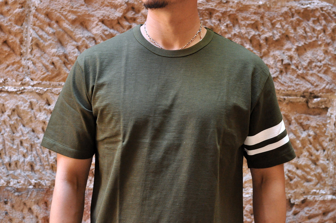 "Momotaro 7oz ""Going To Battle"" Tee (Olive)"