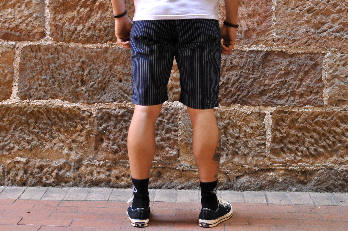 Pure Blue Japan Indigo Wabash Shorts
