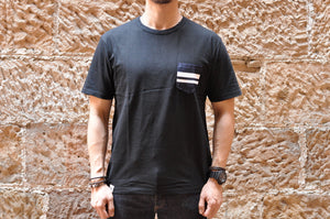 Momotaro Denim Pocket GTB Tees (Black)